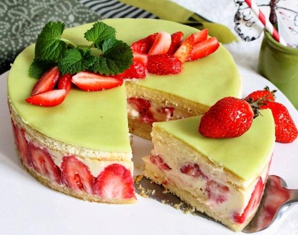 Торт фрезье рецепт с фото