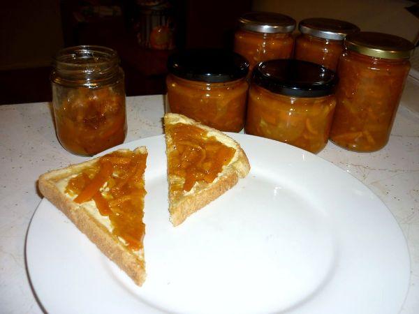 Как сварить мандариновое варенье
