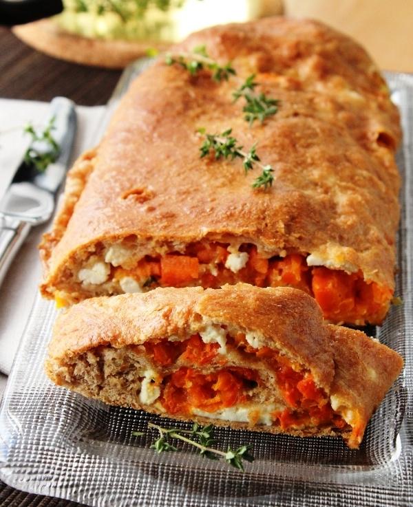 Пирог с морковью в духовке