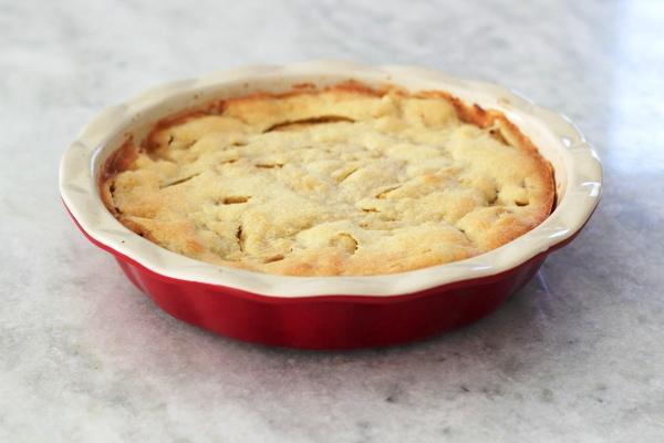 Яблочная шарлотка простой рецепт