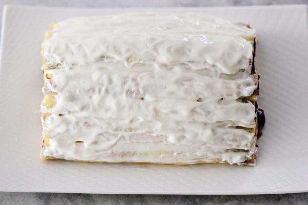 Сметанный торт с вишней монастырская изба