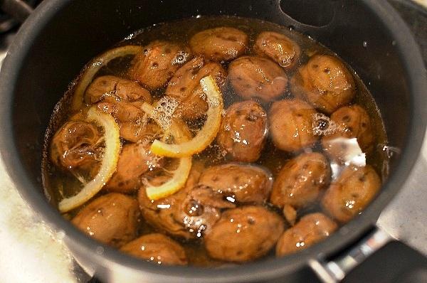 Рецепт орехового варенья в домашних условиях