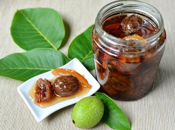 Ореховое варенье из зеленых грецких орехов рецепт
