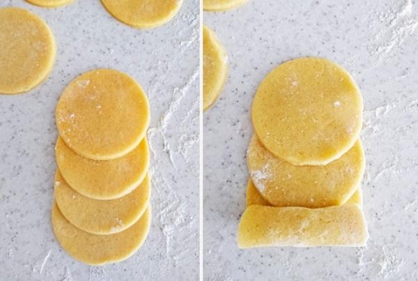 Печенье розочка пошаговое фото