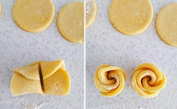 Печенье розочки пошаговый рецепт с фото