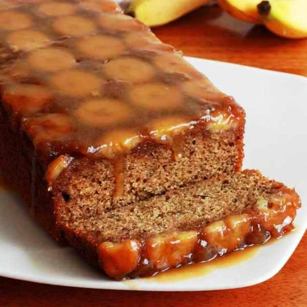 Очень вкусный кекс с бананами