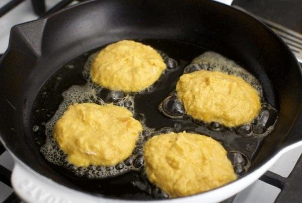 Тыквенные оладьи с сыром рецепт