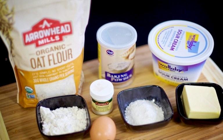 Ингредиенты для молочных коржиков нужны самые простые