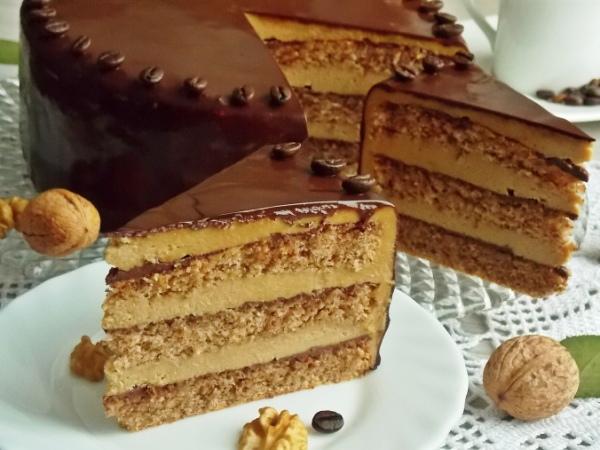 Домашний ореховый торт рецепт