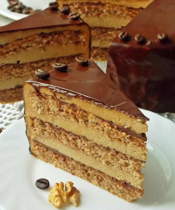 Ореховый торт рецепт