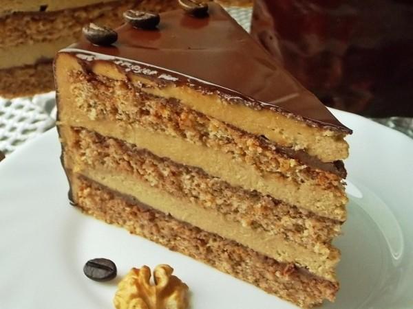 Шоколадно ореховый торт рецепт