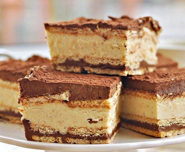 Торт из печенья без выпечки фото рецепт