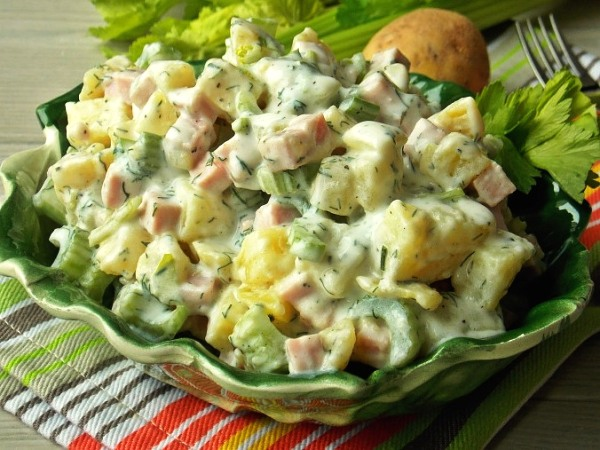 Немецкий картофельный салат рецепт