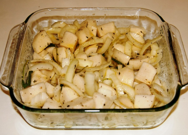 Салат из редьки черной вкусный