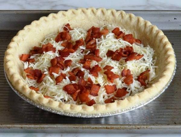 Луковый пирог пошаговый рецепт с фото