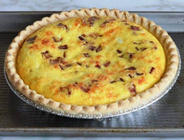 Луковый пирог рецепт классический французский с фото
