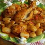 Фасоль с курицей рецепты