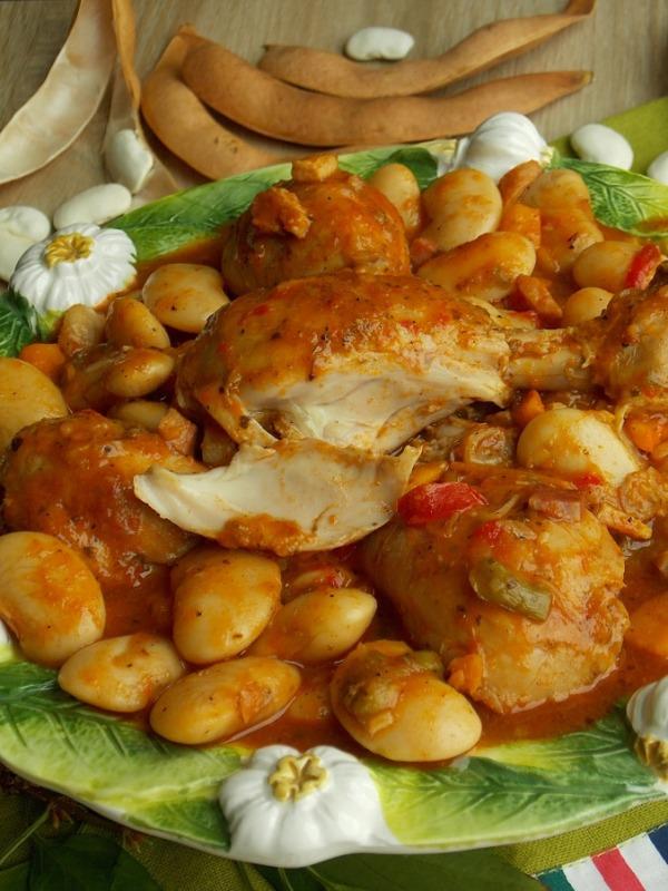 Как приготовить фасоль с курицей вкусно