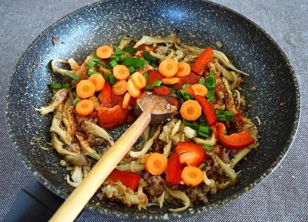Как приготовить грибы вешенки рецепт жареные