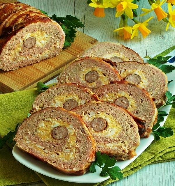 Рулет из мяса свинины