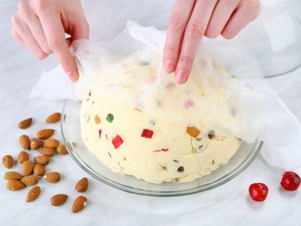 Творожная пасха из сыра маскарпоне