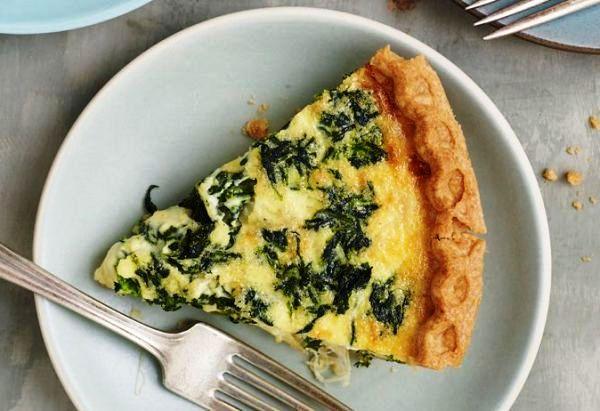 Пирог со шпинатом и сыром рецепт с фото