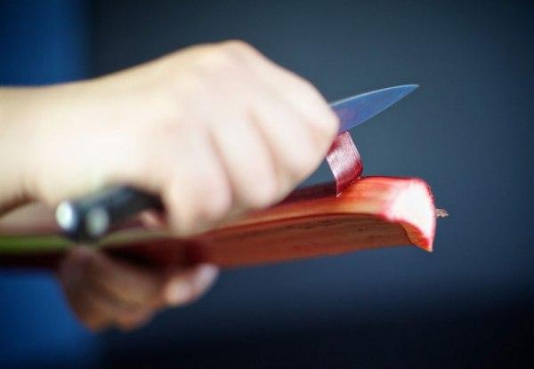 Как сварить компот из ревеня