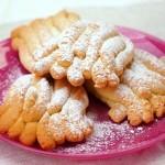 Печенье хризантема через мясорубку рецепт с фото