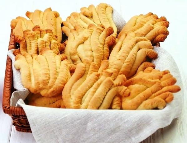 Печенье хризантема через мясорубку рецепт с майонезом