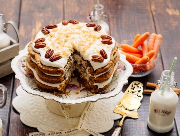Морковный торт классический рецепт в духовке