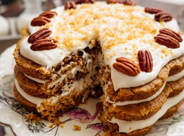 Морковный торт классический рецепт с фото пошагово