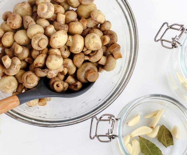 Грибы маринованные рецепт шампиньоны быстрого приготовления