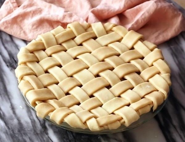 Насыпной яблочный пирог без манки рецепт