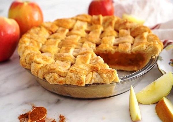 Венгерский насыпной яблочный пирог рецепт