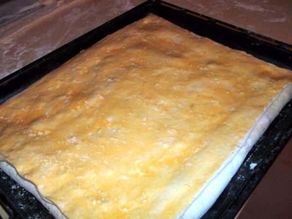 Пирог рис лук яйцо