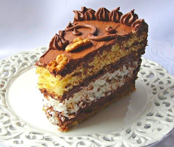 Шоколадно бисквитный торт рецепт с фото