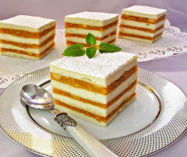 Торт бисквитный рецепт в домашних условиях пошаговый