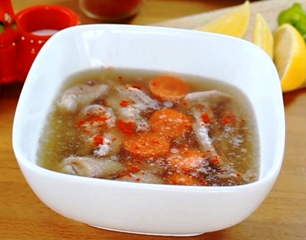 Рецепт домашнего холодца из курицы и свинины