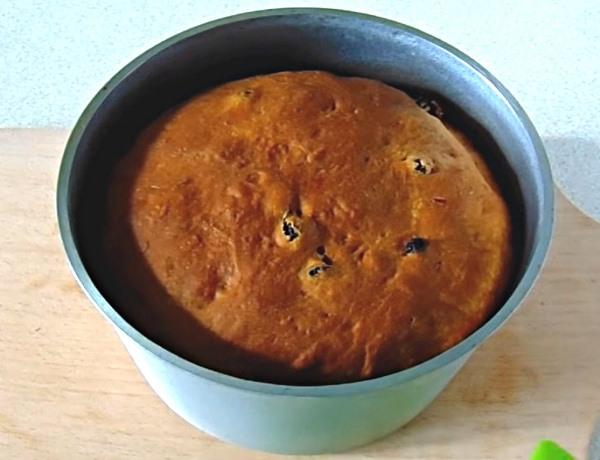 Панеттоне итальянский пасхальный кулич рецепт с фото