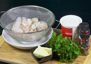 Креветки в сливочном соусе фото рецепт Коломна